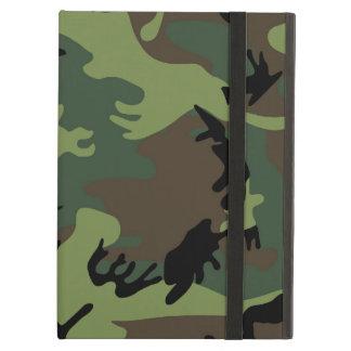 Los militares verdes camuflan la caja del aire del