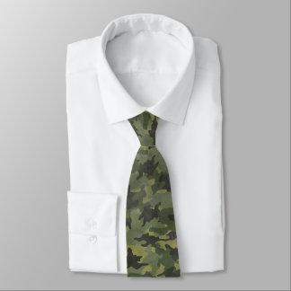 Los militares verdes de Camo del Grunge camuflan Corbatas Personalizadas