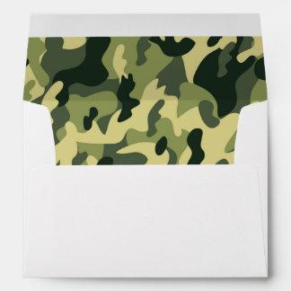 Los militares verdes de hombres de Camo del Sobres