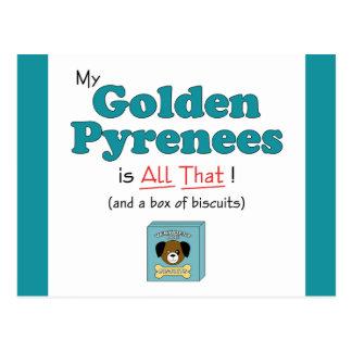 ¡Los mis Pirineos de oro son todos los eso! Tarjetas Postales