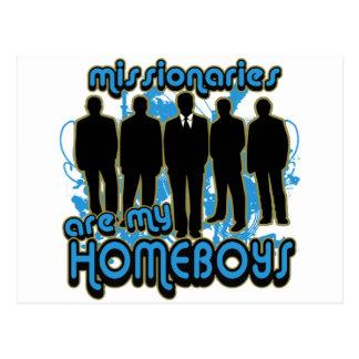 Los misionarios son mis Homeboys Tarjeta Postal
