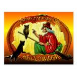 Los misterios de Halloween Tarjetas Postales