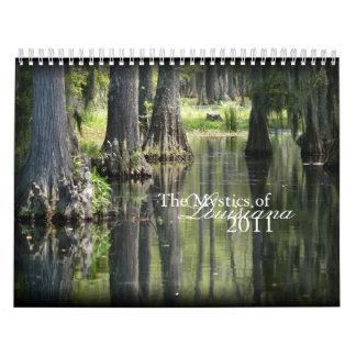 Los místicos de Luisiana 2011 Calendarios De Pared