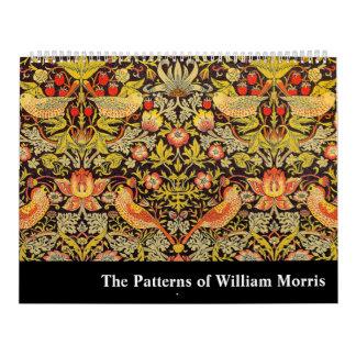 Los modelos de William Morris Calendarios De Pared
