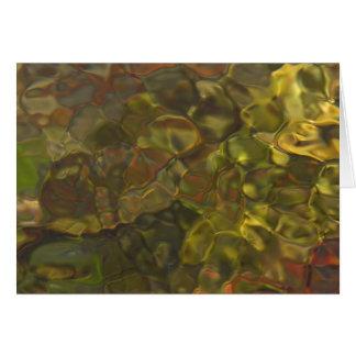 Los modelos ligeros del río - gracias cardar tarjeta de felicitación