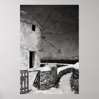 Los molinoes de viento de Mykonos 3 - poster