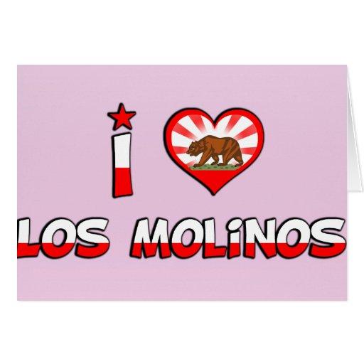 Los Molinos, CA Tarjeta De Felicitación