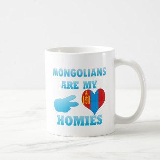 Los Mongolians son mi Homies Taza