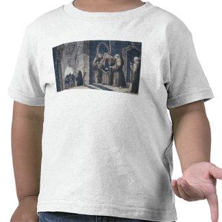 Los monjes que cubren al rey con cubren el convent camisetas