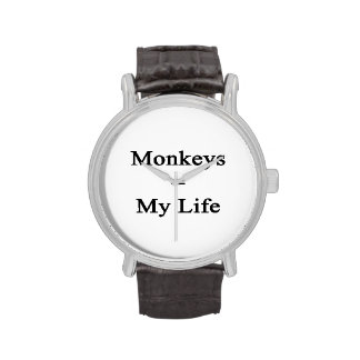 Los monos igualan mi vida reloj