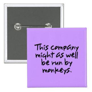 Los monos podían hacer un mejor trabajo en esta pin cuadrado