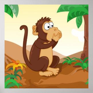 Los monos sabios que hablan 1/3 póster