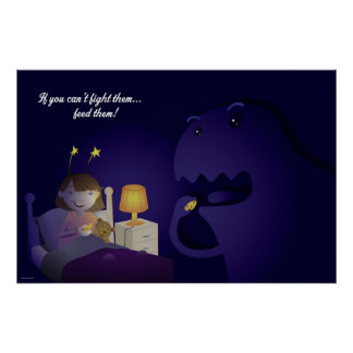 Los monstruos debajo de su cama posters