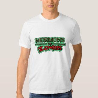 Los mormones de los hombres contra camiseta del remeras