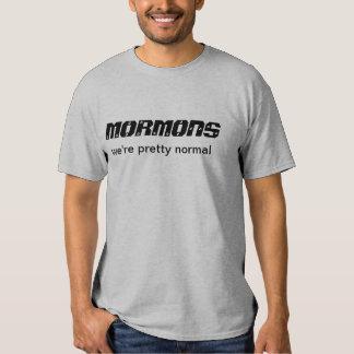 Los mormones somos bonito normal playeras