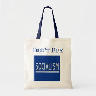 Los motores del gobierno - no compre el socialismo bolsa tela barata