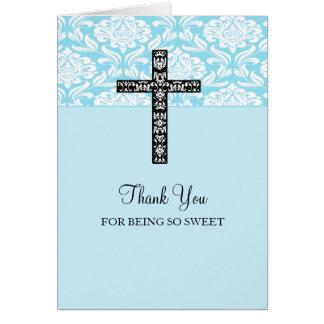 Los muchachos azules de la cruz del damasco le agr felicitación