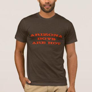 Los muchachos de Arizona son calientes Playera