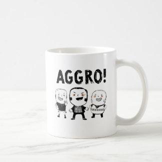 ¡Los muchachos del AGGRO no temen! Tazas De Café