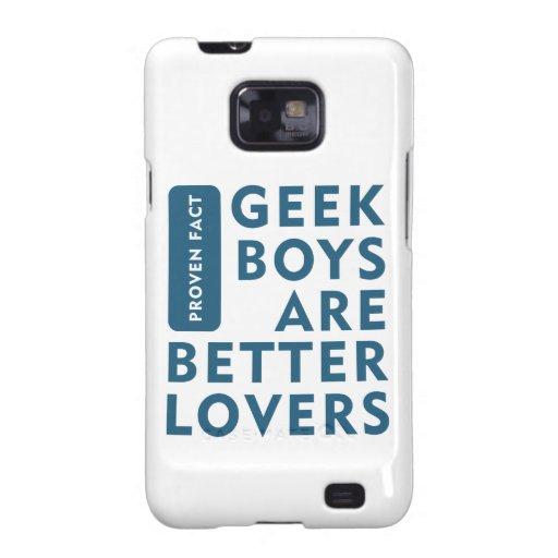 Los muchachos del friki son mejores amantes galaxy SII funda