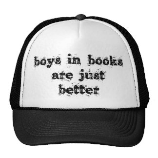 Los muchachos en libros son apenas mejores gorro