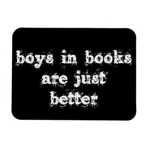 Los muchachos en libros son apenas un mejor imán