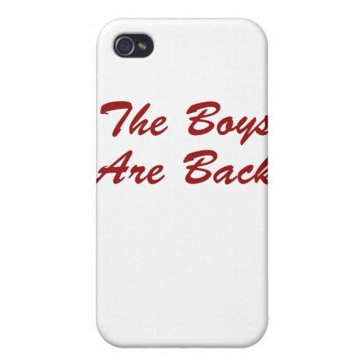 Los muchachos están detrás iPhone 4/4S carcasas