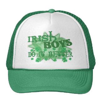 Los muchachos irlandeses mejoran el gorra