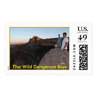 Los muchachos peligrosos salvajes de Moab Sello