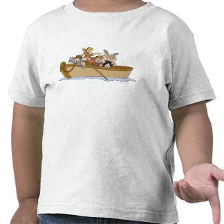 Los muchachos perdidos de Peter Pan en el barco Di Camiseta