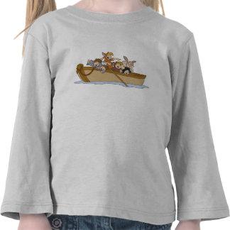 Los muchachos perdidos de Peter Pan en el barco Camiseta