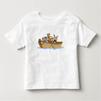 Los muchachos perdidos de Peter Pan en el barco Playeras