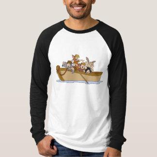 Los muchachos perdidos de Peter Pan en el barco Poleras