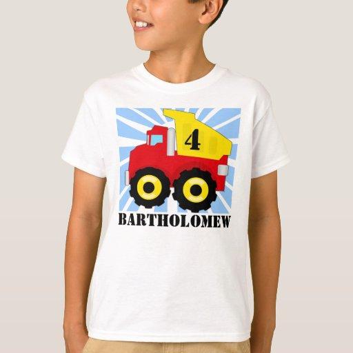 Los muchachos personalizaron la camiseta del playera
