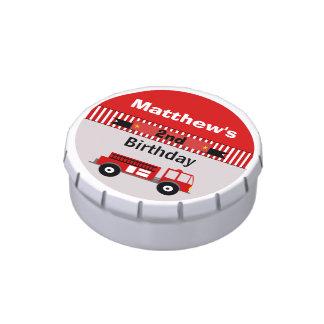Los muchachos personalizaron la lata del caramelo  latas de dulces