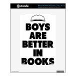 Los muchachos son mejores en libros skin para el NOOK