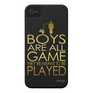 Los muchachos son todo el juego, ellos se Case-Mate iPhone 4 fundas