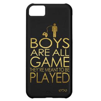Los muchachos son todo el juego, ellos se funda para iPhone 5C