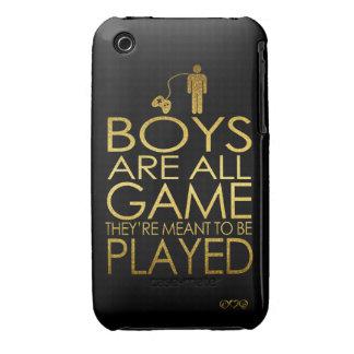 Los muchachos son todo el juego, ellos se iPhone 3 Case-Mate carcasas