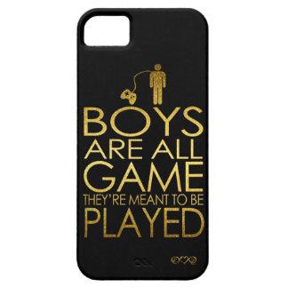 Los muchachos son todo el juego, ellos se iPhone 5 carcasas