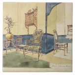 Los muebles Anglo del estilo japonés diseñan por E Azulejo Cuadrado Grande