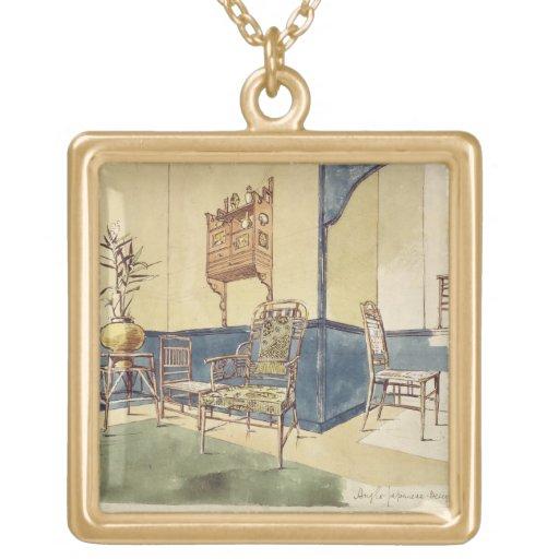 Los muebles Anglo del estilo japonés diseñan por E Colgante Cuadrado