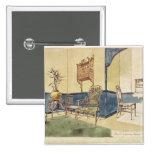 Los muebles Anglo del estilo japonés diseñan por E Pin Cuadrada 5 Cm