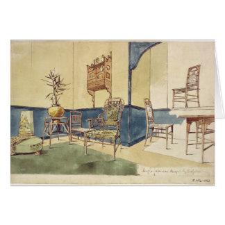 Los muebles Anglo del estilo japonés diseñan por E Felicitación