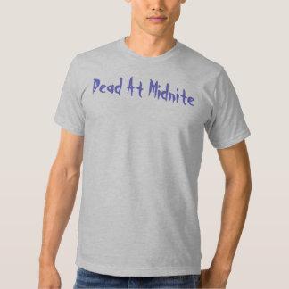 ¡Los muertos en Midnite, protegen al innocent!!! Playeras