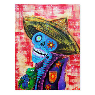Los Muertos Sugar Skull Postcards