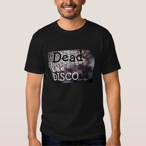 Los muertos tienen gusto del disco, hombres negros playeras