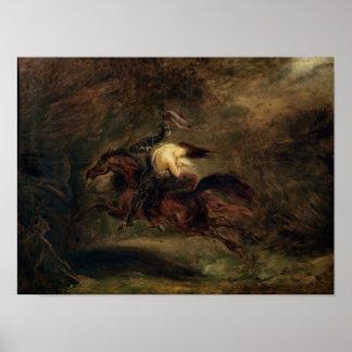 Los muertos van rápidamente, 1830 póster