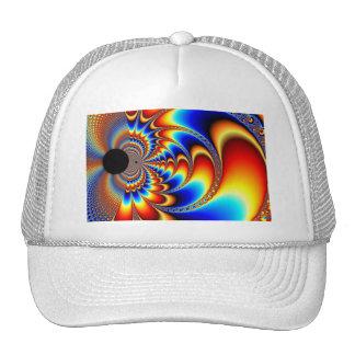 Los mundos chocan - fractal gorra