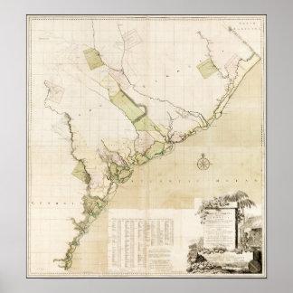Los municipios de Carolina del Sur Poster
